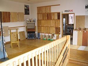 Holz Kausche - Ausstellungraum