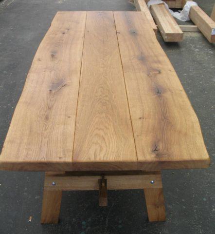 Rustikaler Eichentisch von Holz Kausche