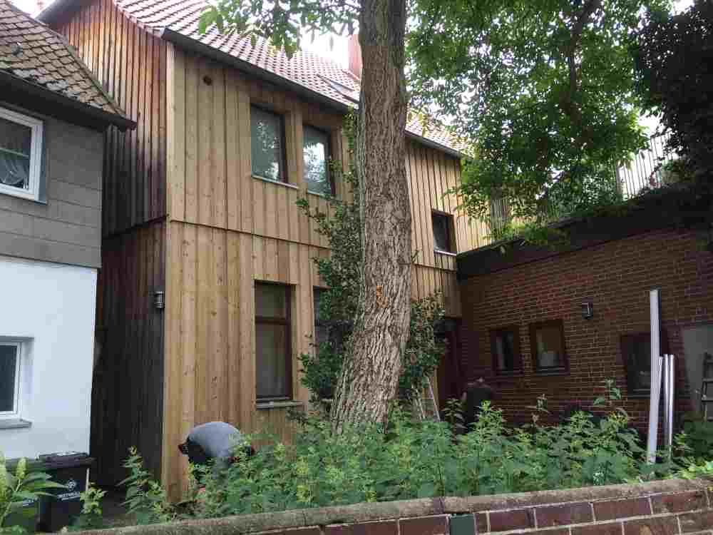 Fassaden - Holzbau Kausche